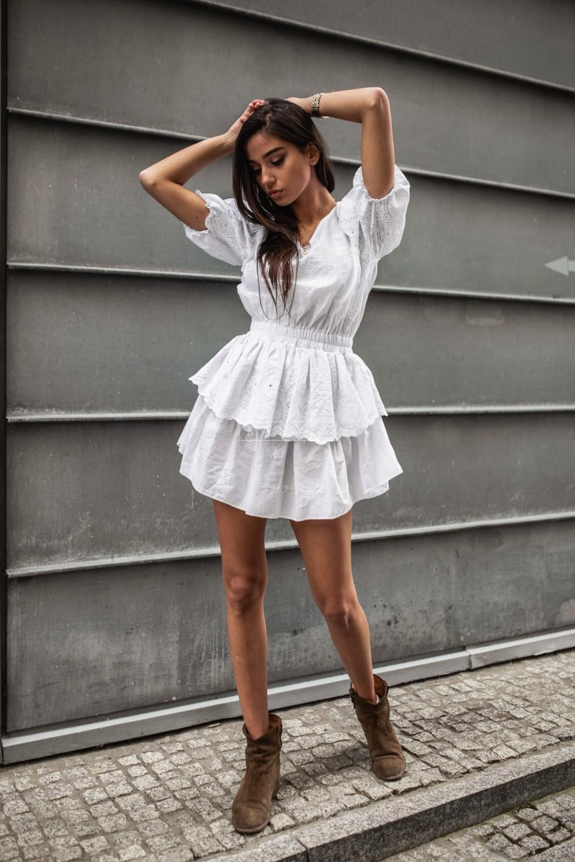 LA PALMA BY MARSALA dress white
