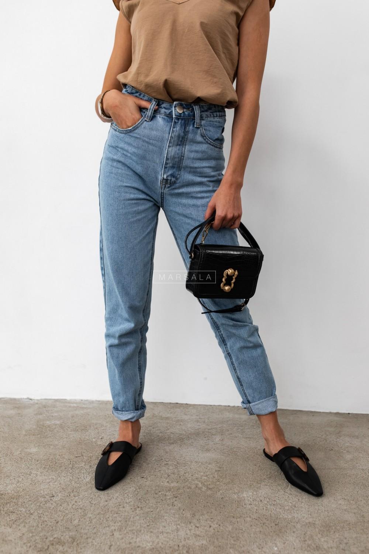 Denim mom fit jeans - HILLS