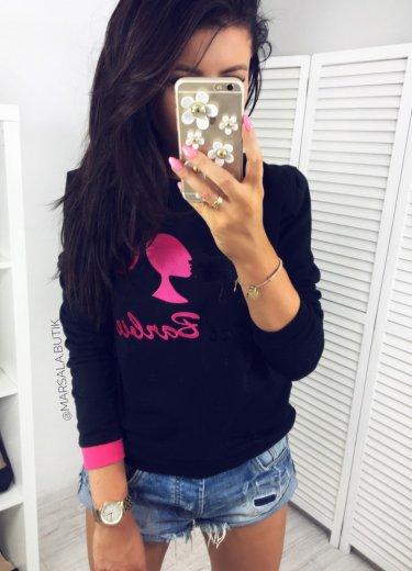 Bluza BARBIE KARL - czarna