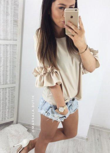 Bluzka BRESSO - beż