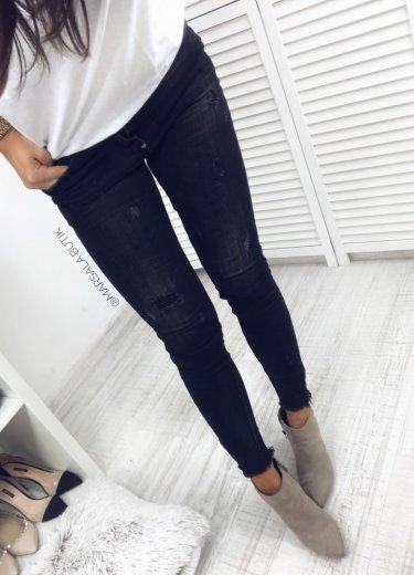 Spodnie WIYA ZIP - czarne