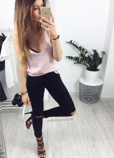 Spodnie JEGGINSY - czarne