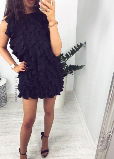 Sukienka BELLA - czarna