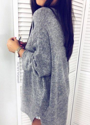 Sweter AIMEE - szary