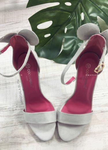 Sandałki MICKEY - szare