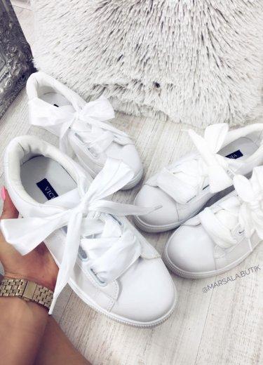 Buty BASKET - białe
