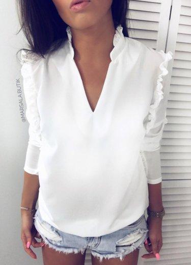 Bluzka TAMARA - śmietanka