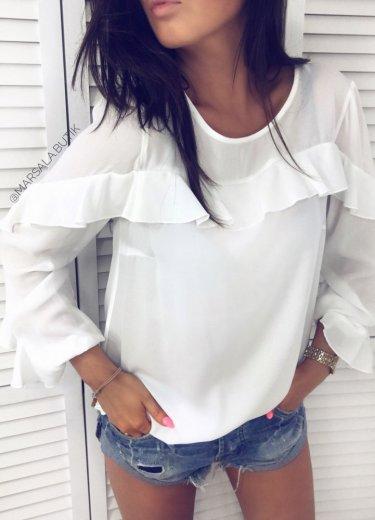 Bluzka GREECE - biała