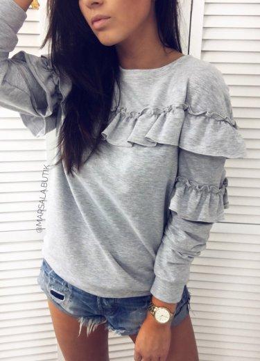 Bluza DRESOWA z falbankami