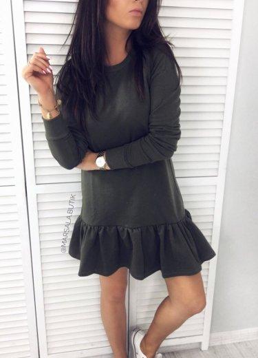 Sukienka RIVIA BASIC - khaki