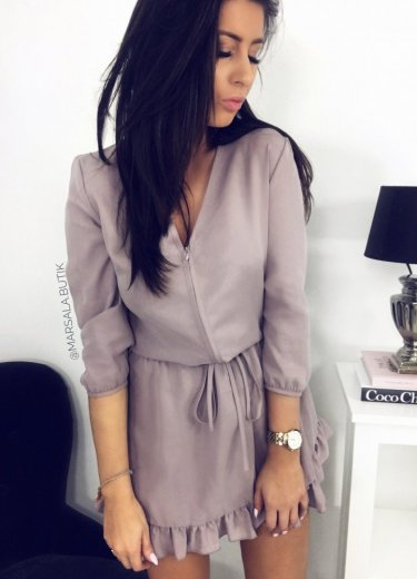 Sukienka POLLY - lawenda