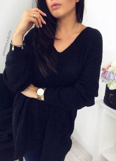 Sweter AIMEE - czarny