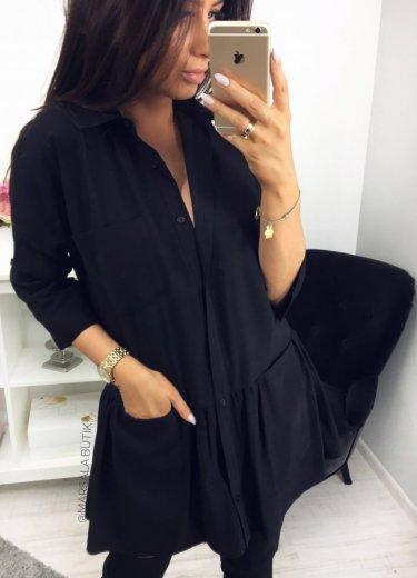 Sukienka NAPOLI - czarna