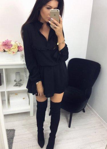 Sukienka LUIZA - czarna