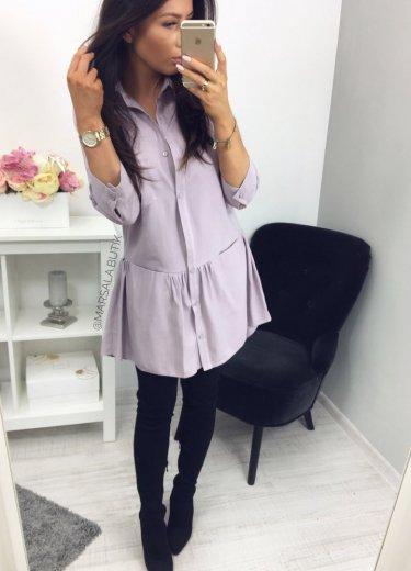 Sukienka NAPOLI  - lawenda