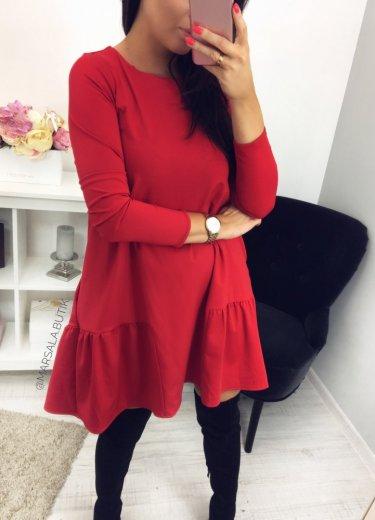 Sukienka VICTORIA - czerwona