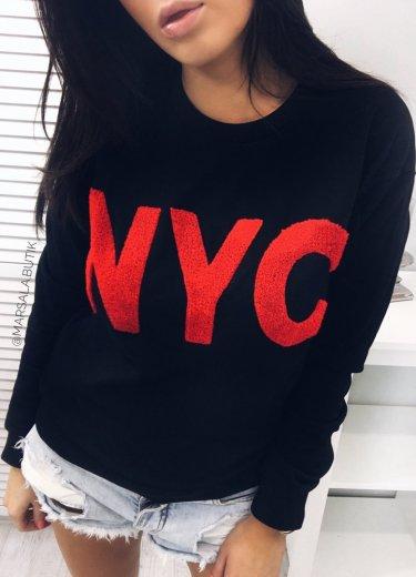 Bluza NYC - czarna
