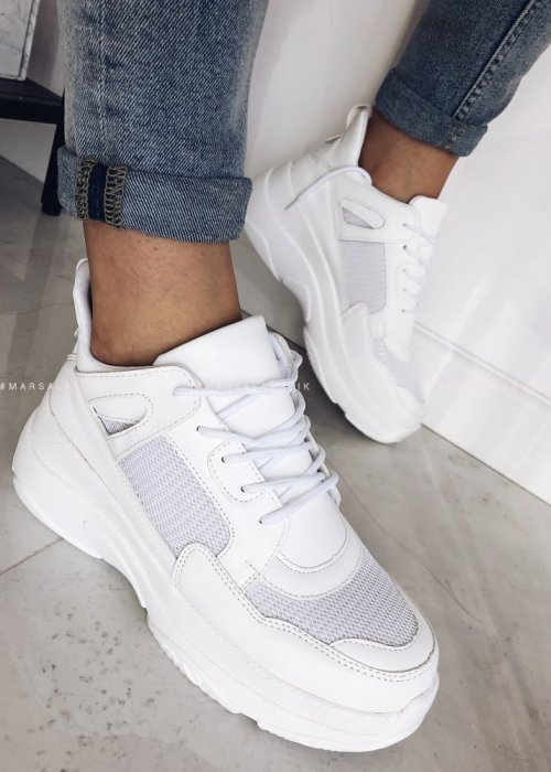 NEW RULES white sneakers
