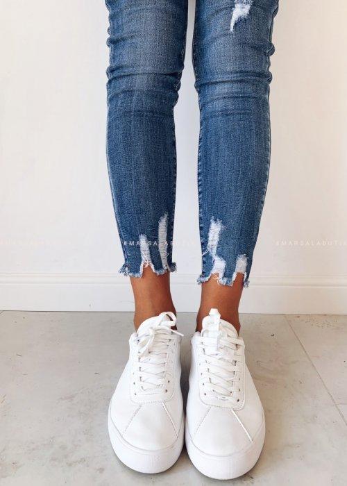 Denim jeans INTENSE NAVY rugged leg