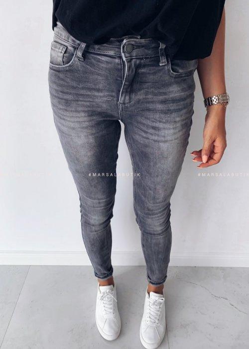 Spodnie CLOUD jeansy szare
