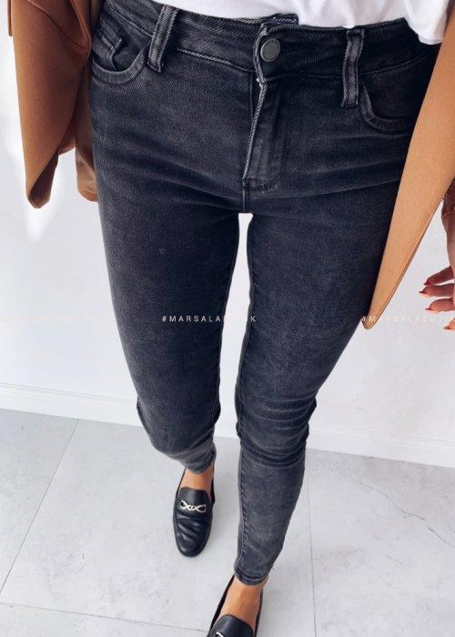 Spodnie CLOUD jeansy czarne
