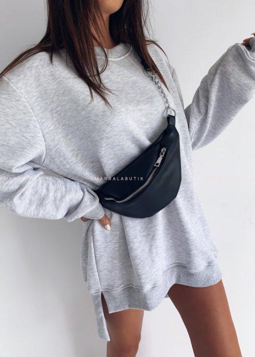 Blouse LONG BY MARSALA grey