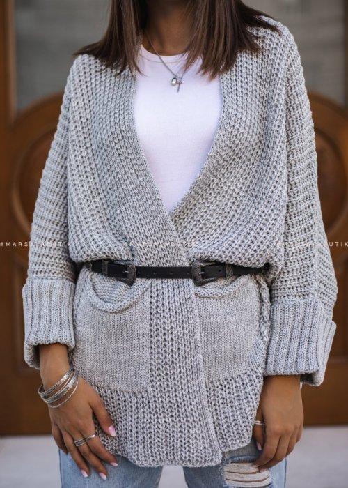 SOMFY cardigan with grey pockets