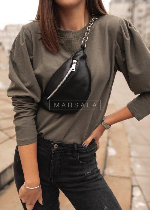 Khaki puff blouse - FEMALE by marsala