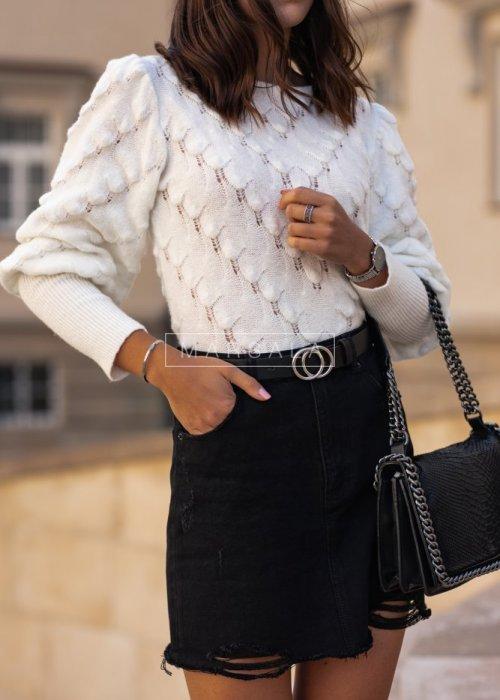 Sweterek ALABAMA ecru