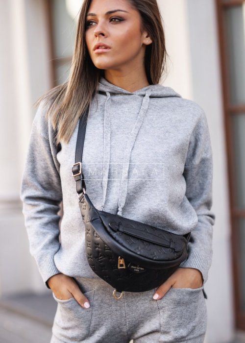 Sweater set in grey – COLLIN