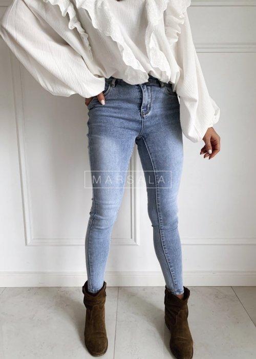 Spodnie jeansowe dopasowane gładkie - ARCTIC JEANS