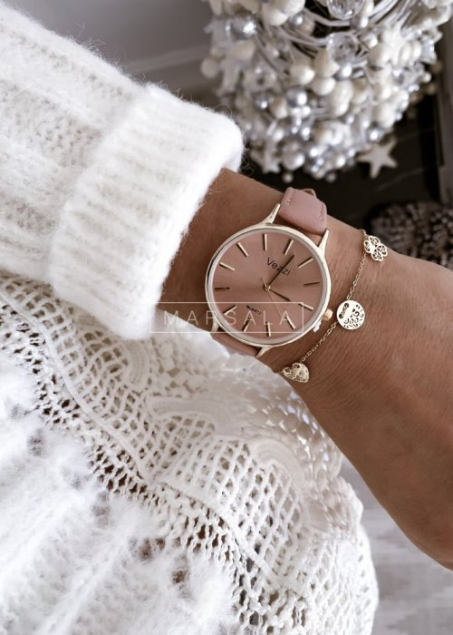 Zegarek VEZZI pudrowy