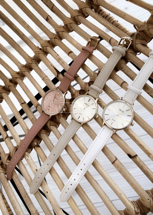 Zegarek VEZZI beżowy