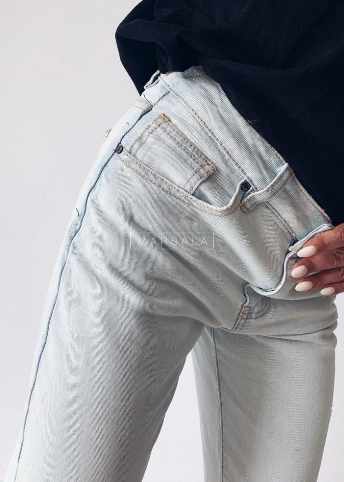 Spodnie boyfriendy JOES jasny jeans