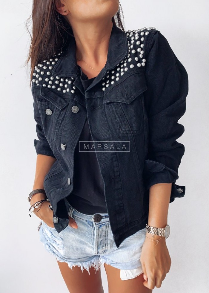 Studded jacket PRINCE black