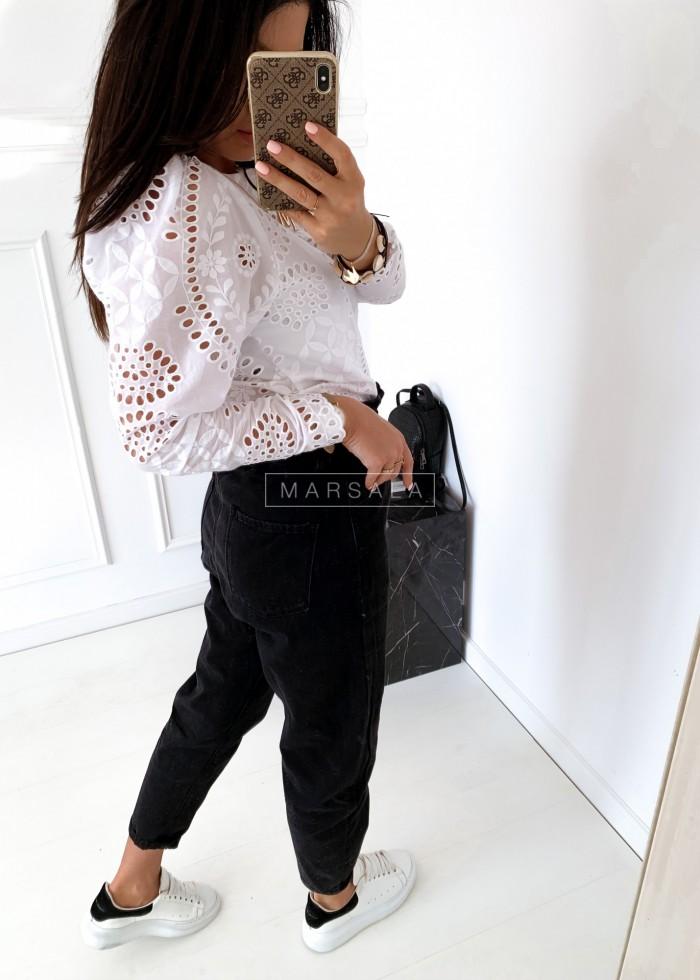 Slouchy jeans in black - PORTO BLACK