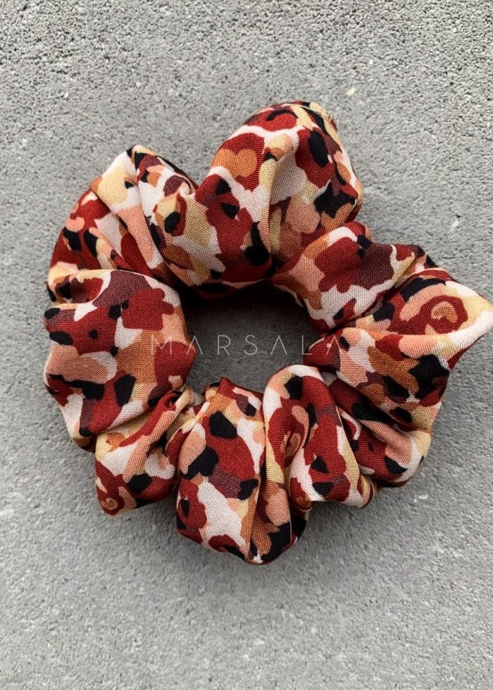 Gumka/frotka do włosów w kolorowe ciapki- EMI by Marsala