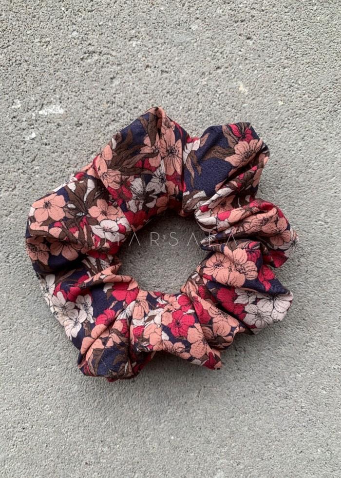 Gumka/frotka do włosów w kolorowe kwiatuszki - EMI by Marsala