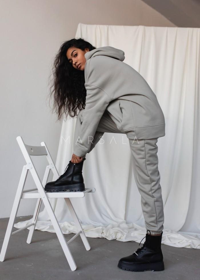 Spodnie dresowe typu jogger w odcieniu ICE FLOW - DISPLAY by Marsala
