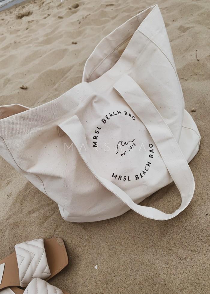 Torba typu shopper bag medium size MRSL BEACH BAG BY MARSALA