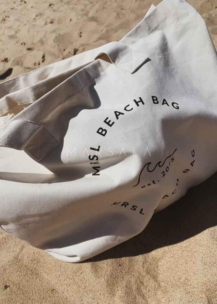 Torba typu shopper bag large size MRSL BEACH BAG BY MARSALA