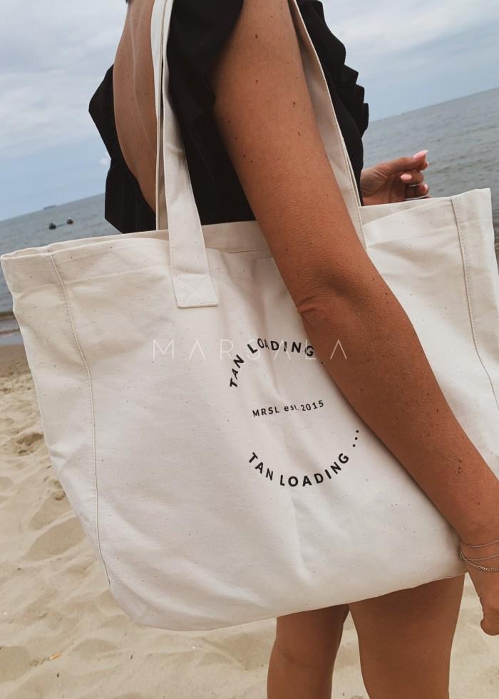 Torba typu shopper bag medium size TAN LOADING BY MARSALA