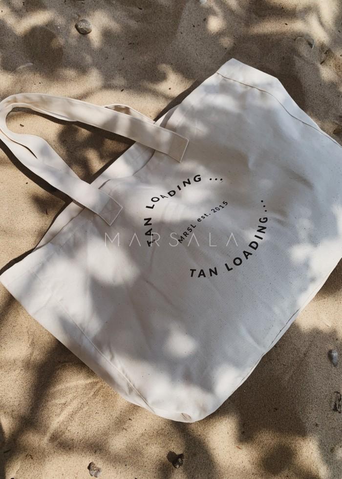Torba typu shopper bag large size TAN LOADING BY MARSALA
