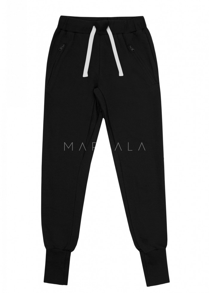 Black tracksuit trousers - ACTIVE BY MARSALA
